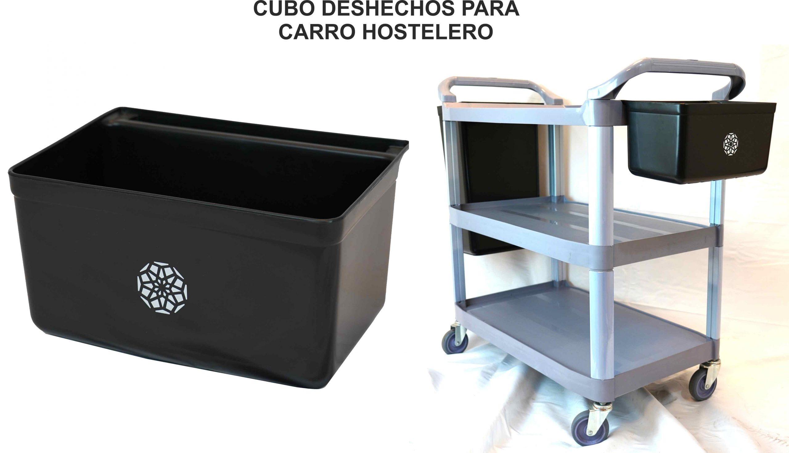 CUBO CUBIERTOS 33X23X17.5 PARA CARRO HOSTELERO