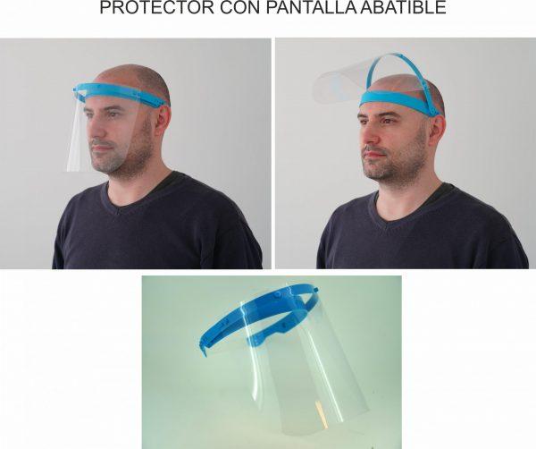 PROTECTOR CON PANTALLA ABATIBLE