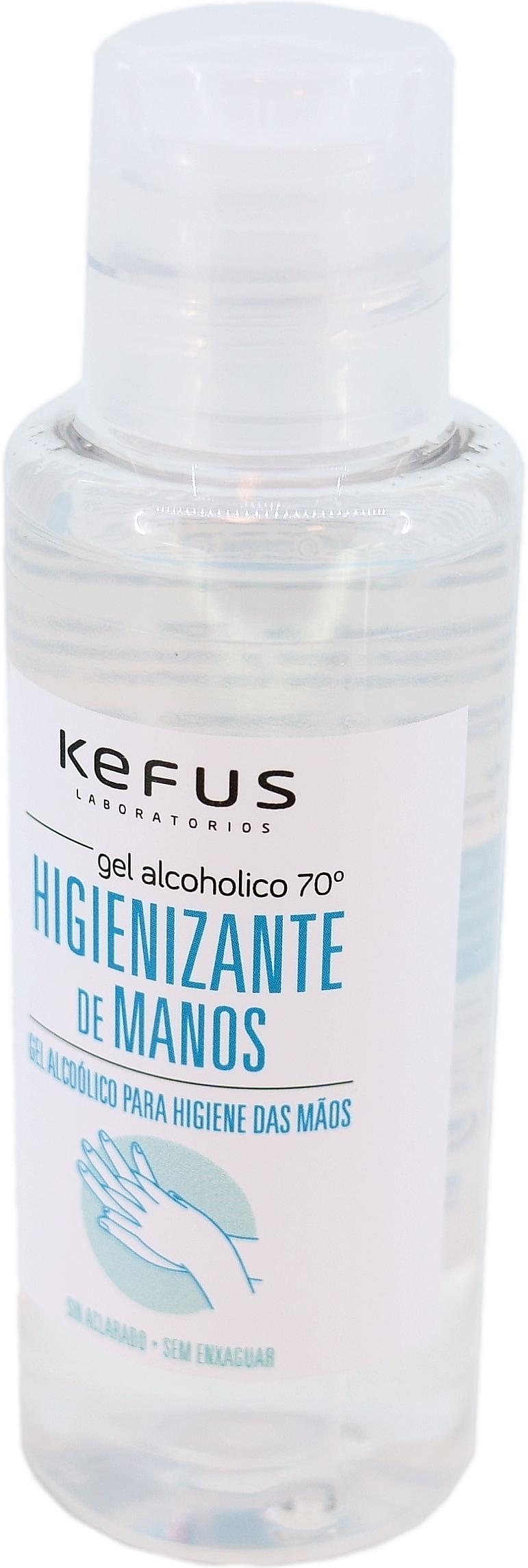 HIGIENIZANTE DE MANOS KEFUS 100ml