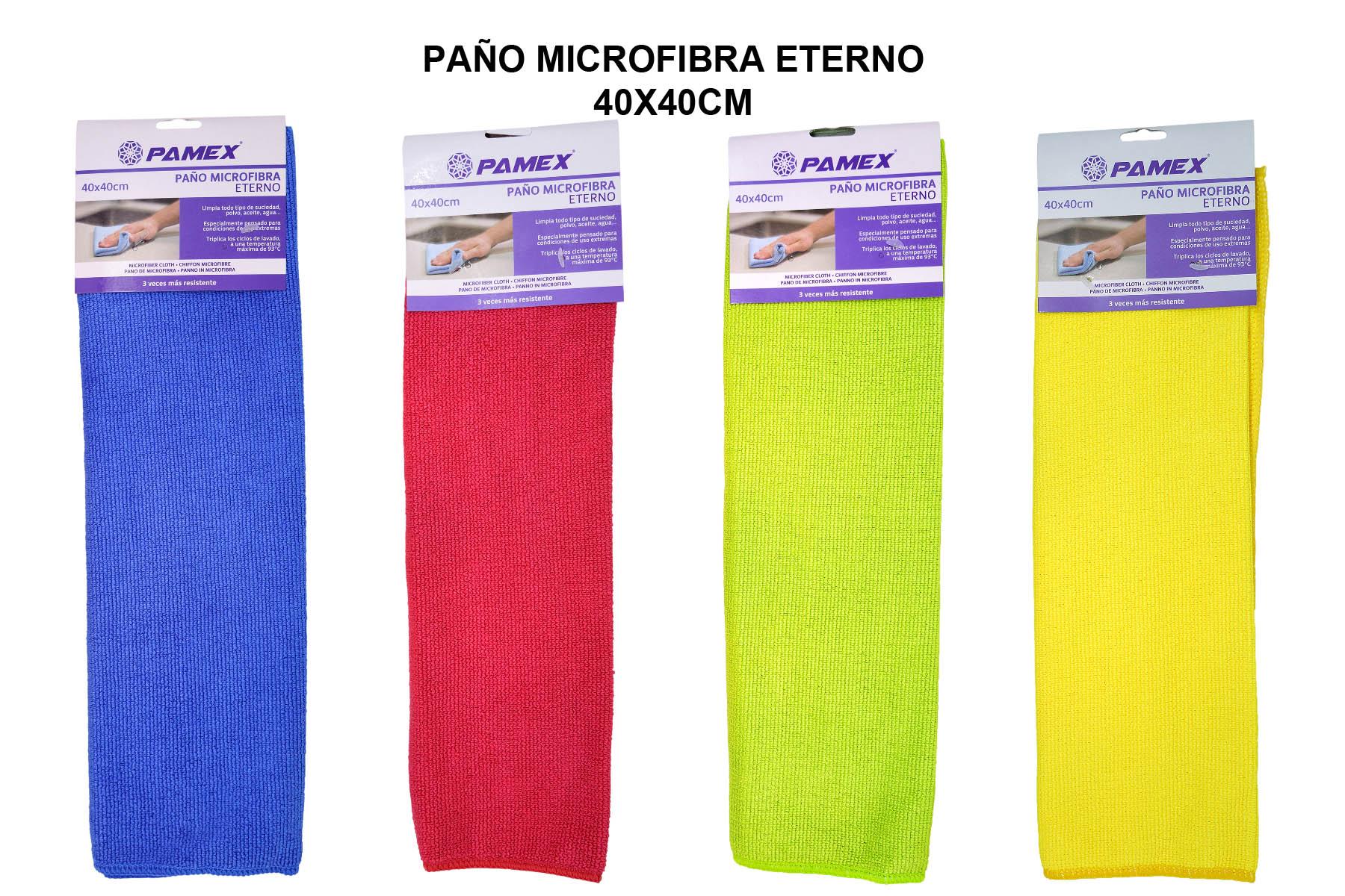 PAÑO MICROFIBRA ETERNO 40X40CM