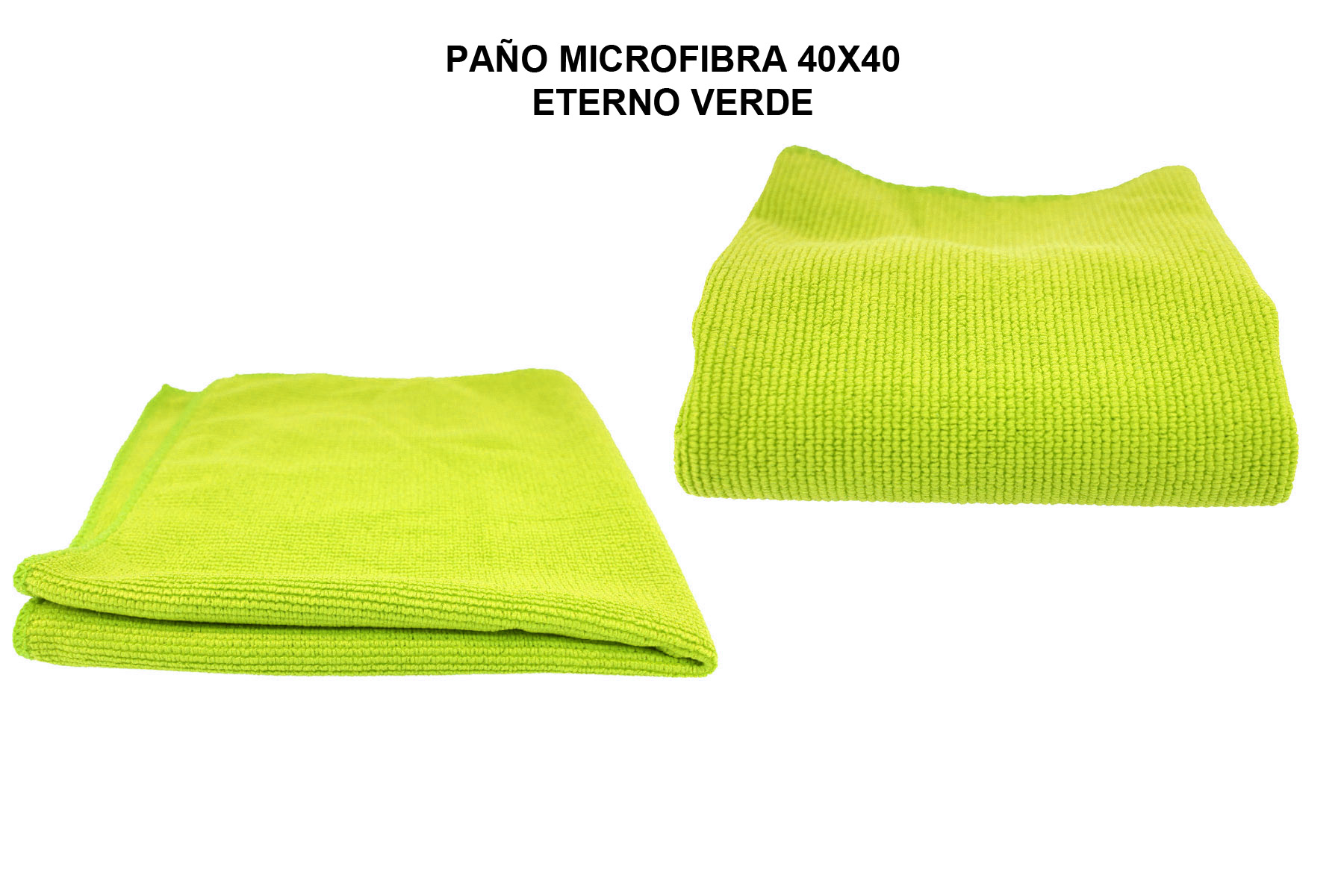 PAÑO MICROFIBRA 40X40 ETERNO VERDE