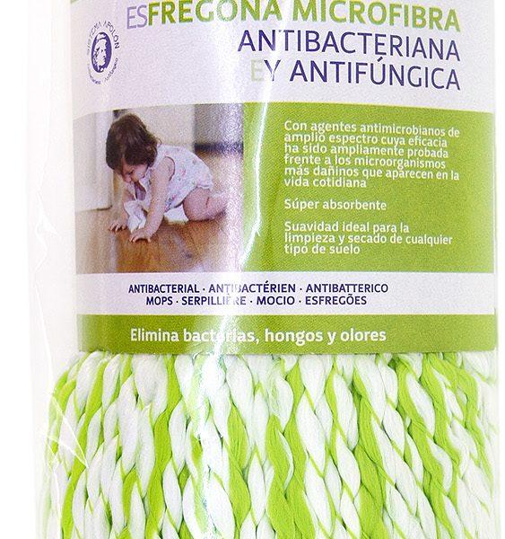 FREGONA MICROFIBRA ANTIBACTERIANA