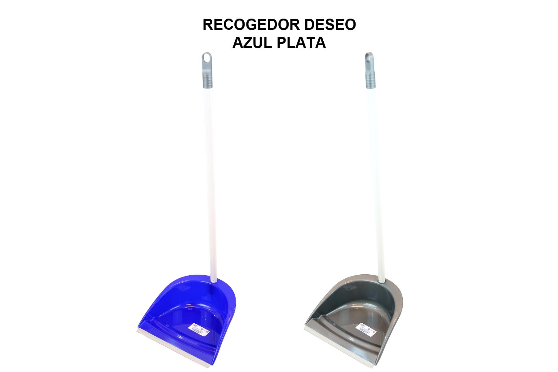 RECOGEDOR DESEO AZUL PLATA