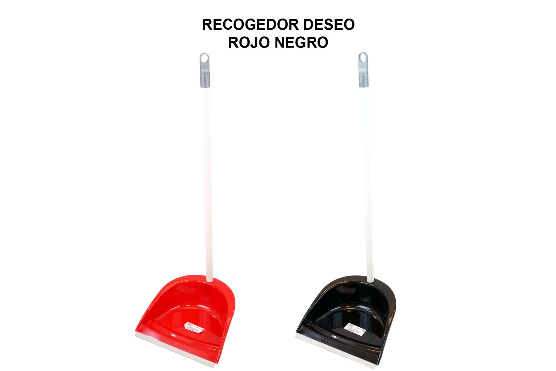 RECOGEDOR DESEO ROJO NEGRO