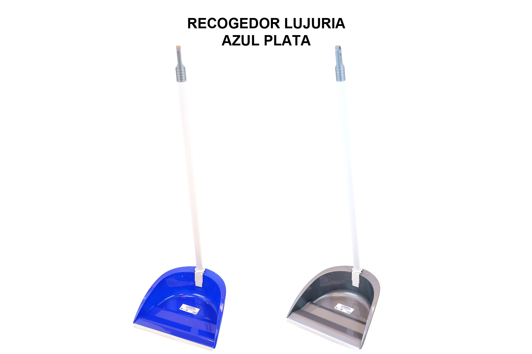 RECOGEDOR LUJURIA AZUL PLATA